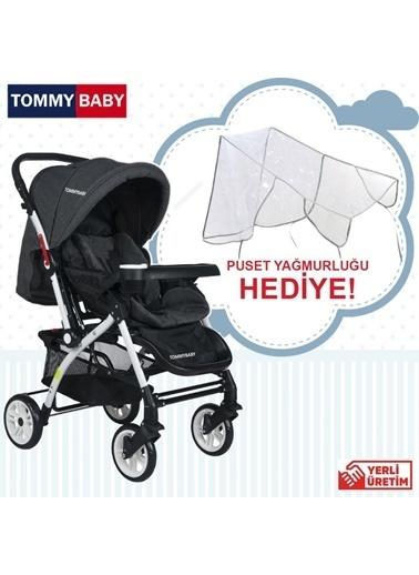 Tommy Baby Alüminyum Lüx Çift Yön Bebek Arabası Antrasit